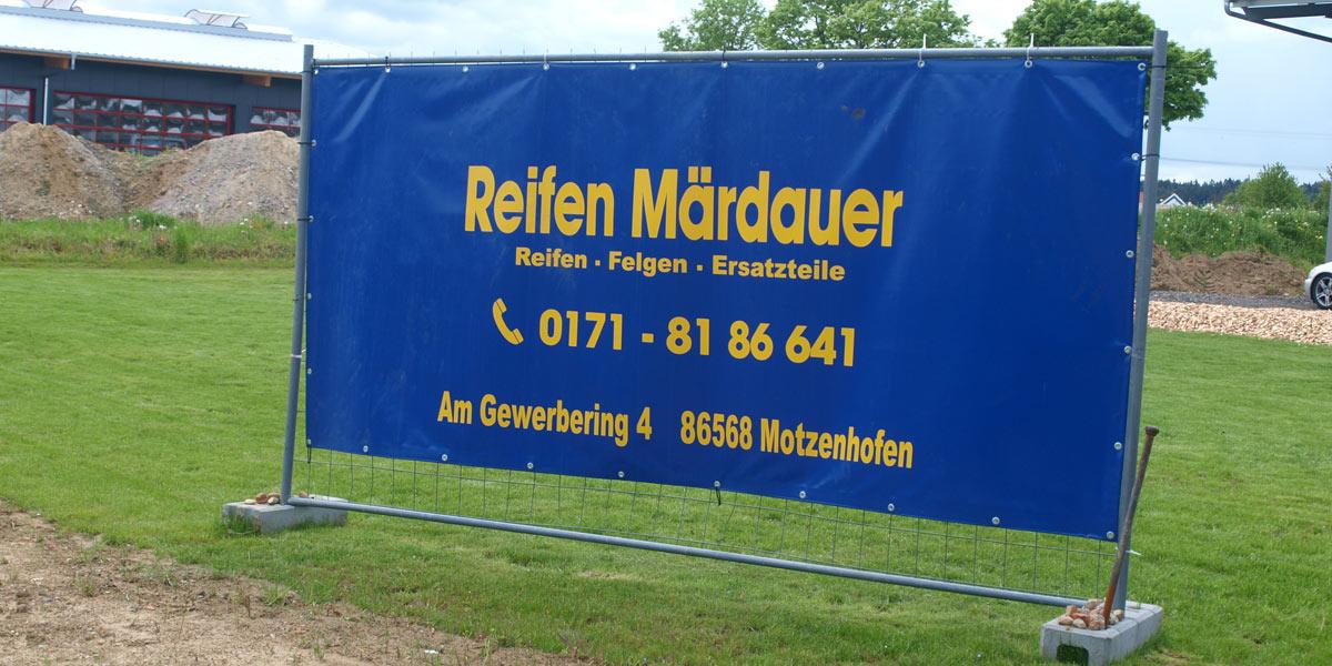 Reifen Märdauer Motzenhofen Kontakt