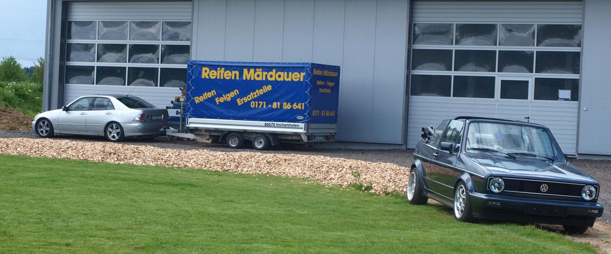 Reifen Märdauer Halle in Motzenhofen